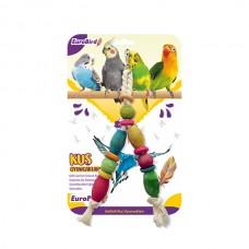 EuroBird Kuş Oyuncağı Renkli V Sekilli Boncuk