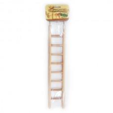 EuroGold Ahşap Kuş Oyuncağı Merdiven 8 Basamaklı 38cm