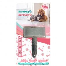 EuroDog Köpek Fırçası Medium