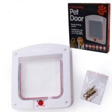 Pet Door 4 Yollu Kedi Kapısı (22x20x3cm)