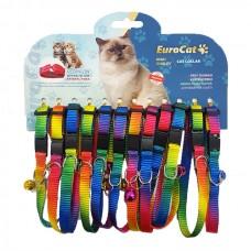 EuroCat Kedi Boyun Tasması Gökkuş. 10mm28cm (12 Li)