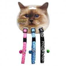 EuroCat Kedi Boyun Tasması Çizgi Des.10mm28cm (3 Lü)