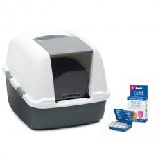 Catit Magic Blue Litter Box Jumbo