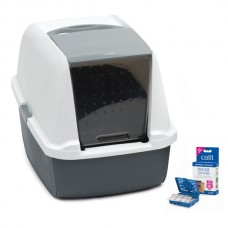 Catit Magic Blue Litter Box Regular