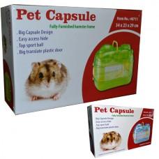 Pet Capsule Akrilik Hamster Kafesi